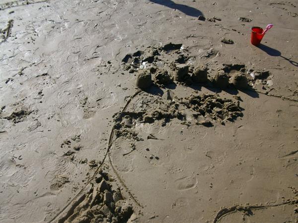 Sand sculptures !