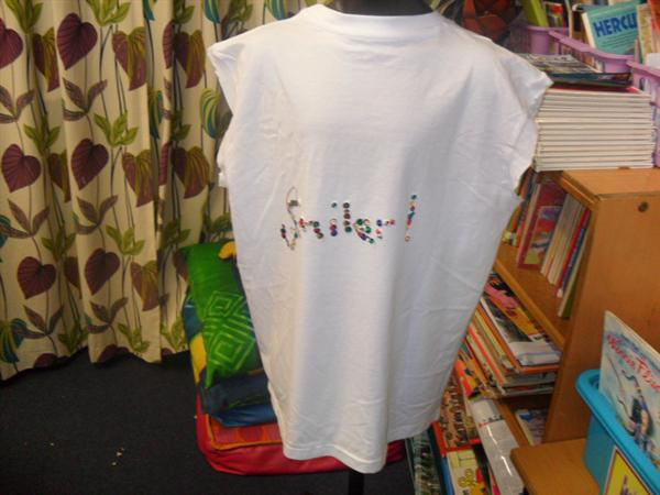 Our customised t-shirts!