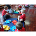 All the pupils enjoy the teddy bears picnic!