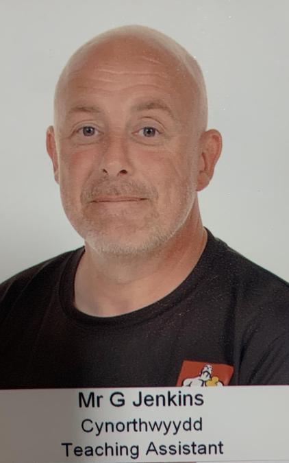 Mr G Jenkins. Cynorthwydd Dysgu/Learning Support