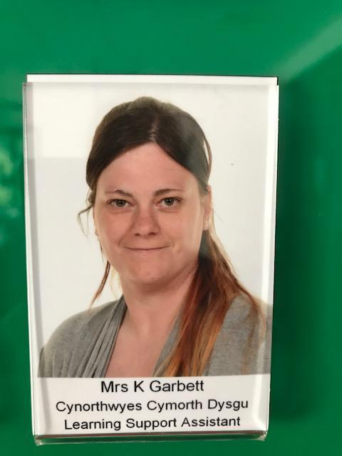 Mrs K Garbett. Dosbarth Maeth/ Nuture Class