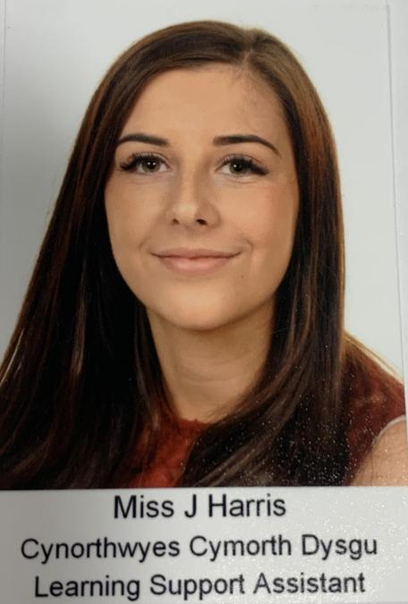 Miss J Harris. HLTA