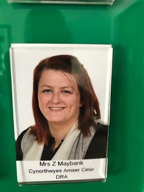 Mrs Z Maybank Cynorthwyes Dysgu/Learning Support